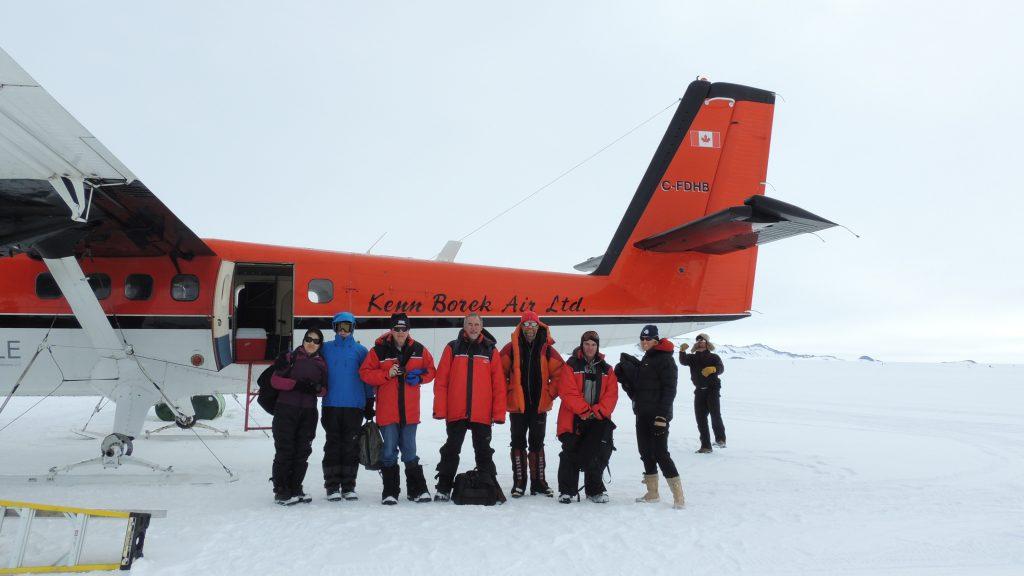 Abflug-Südpol
